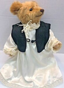 Vintage Steiff Schnuffy Bear West Germany.  Jointed, 1986