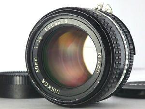 [Excellent] NIKON AI-S NIKKOR 50mm f/1.4 Prime MF Lens JAPAN SLR Standard JP AIS