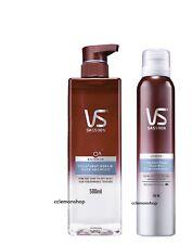 ^^ 0% silicone Vidal Sassoon VS Deep Repair Nude Shampoo Foam Conditioner hair