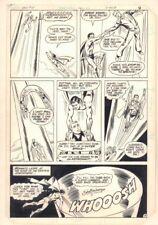 New Adventures of Superboy #35 p.7 - Superboy Action art by Kurt Schaffenberger Comic Art