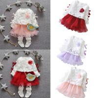 Summer Infant Kid Baby Girl Short Sleeve Pineapple Tutu Princess Leisure Dress L