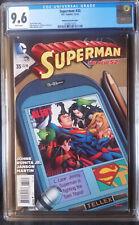 Superman (2011 3rd Series) #35 McKone Variant CGC 9.6 1:50