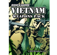 BrickArms Vietnam Minifigure Weapons Pack for LEGO