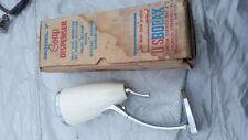 Vintage 1960's Model -7 boraxo Soap Dispenser Mule Team Products