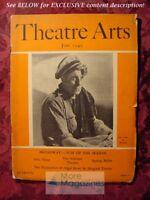 THEATRE ARTS June 1942 Jean Gabin Lehman Engel Shepard Traube Arthur Sircom