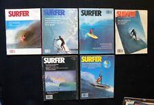 Surfer Magazine 1979 Vol 20 Lot Of 6 Issues Surfer Longboarding Hawaii