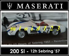 1/43 - Maserati 100 Years Collection : 200SI 24h Sebring 1957 - Die-cast