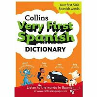 Spanish picture Dictionary for Children Spanish learning bilingual activity book