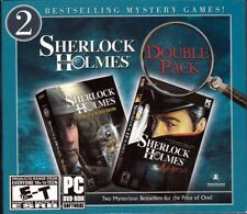 SHERLOCK HOLMES Secret Silver Earring+NEMESIS~2 PC Game FREE US SHIPPING