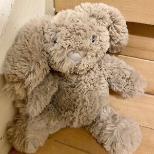 "Manhattan Toy Company Cute Velvet Soft Fluffy Bunny Rabbit Soft Toy 7 "" Tall"