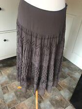Women's Per Una Brown Skirt Size 10R