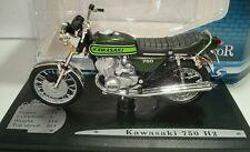 SOLIDO 1:18 MOTO DIE CAST KAWASAKI 750 H2 VERDE SCURO METALLIZZATO  ART 840014