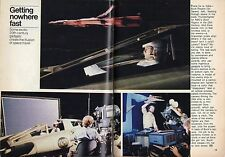 1979 Tv  Article~SPACE TRAVEL~BUCK ROGERS in the 25th CENTURY~GIL GERARD~ROCKET