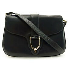 Gucci Handbag Navy Woman Authentic Used D427