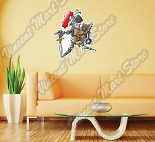 "Knight Medieval Knighthood Funny Gift Wall Sticker Room Interior Decor 22""X22"""