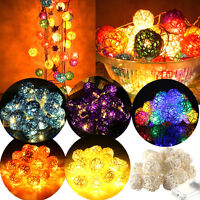 2.2 M 20LED Color Ball String Fairy Electric Lights For Xmas Wedding Party Decor
