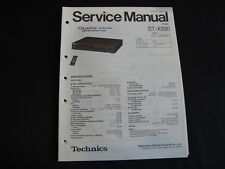 ORIGINAL SERVICE MANUAL TECHNICS st-x930