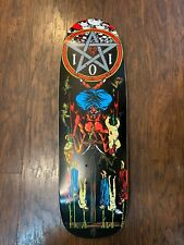 New Cliche Handwritten Glitter White Skateboard Deck 7.5in