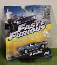 MATTEL 1:55th SCALE DIE-CAST FAST & FURIOUS 23/32 F8 ICE CHARGER