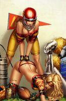 Mojo #1  EBAS Girls  FOOTBALL  Rothic Ltd. Ed. 250 Nice  Comic Book