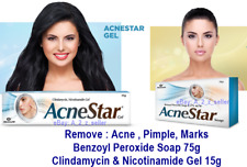 Face AcneStar Benzoyl Peroxide Acne Soap And Pimple Spot Blemishes Removal Gel