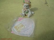 Calico Kittens Enesco Our Friendship Blossomed From The Heart 627887 & Papers