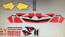 Honda NSR250 NSR250SP Pentax DECAL set