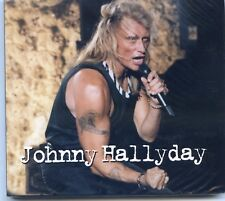 JOHNNY HALLYDAY CD SINGLE 2 TITRES LIVE PROMO HORS COMMERCE NEUF EMBALLE +RARE +