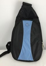 Nintendo Wii Backpack Tavel Bag Console Pad Shoulder Sling Shoulder Black