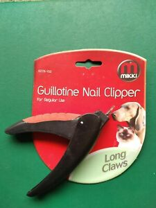 MIKKII GUILOTINE NAIL CLIPPER 6276-152 CLAW TRIMMING CLIPPERS DOG CAT GROOMING