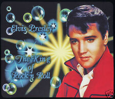 1 x ELVIS PRESLEY ROCK AND ROLL,  MOUSE MAT OR SMALL TABLE MAT - Fully Washable