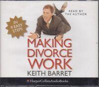 Making Divorce Work Keith Barret 4CD Audio Book Rob Brydon Unabridged FASTPOST
