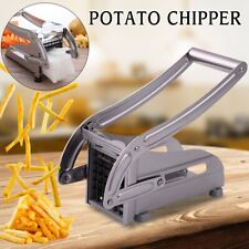 Stainless Steel French Fries Cutter Vegetable Potato Chopper Slicer 4 Blades