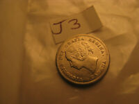 Canada 1872 H 5 Cent Silver Coin ID#J3.