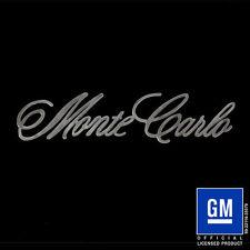 Speedcult / New Item / Monte Carlo Script / Metal / Sign / Gmmtc02