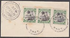 COOK IS. NEW ZEALAND 1932 MARINE POST OFFICE RMS MAKURA cds on piece.......54111