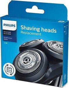 Testine di ricambio per rasoio elettrico uomo Philips SH50/50 per PowerTouch