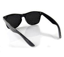 Men Women Full Frame Pinhole Glasses Stenopeic Eyeglasses Care Vision Improver
