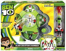 Ben 10 Alien Creation Chamber Playset [Includes 4 Figures]