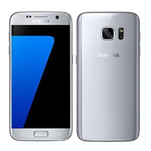 Samsung Galaxy S7 G930F 32GB Factory Unlocked GSM Silver Smartphone
