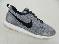 NIKE Roshe Run Flyknit Grey Sz 12 Men Running Shoes