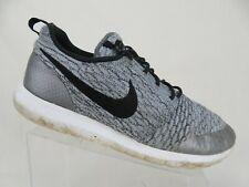 newest 42670 c30ce New ListingNIKE Roshe Run Flyknit Grey Sz 12 Men Running Shoes