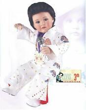 "Marie Osmond 2007 ""baby Elvis"" 12-inch Toddler Porcelain Doll*"