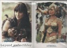 XENA CARD LOT - XENA LOT OF 5 DIFFERENT BASE CARD SETS - LOT #8