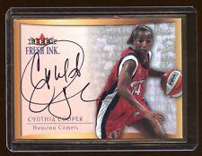 CYNTHIA COOPER 2000 ULTRA FRESH INK AUTO SP AUTOGRAPH  WNBA  RARE
