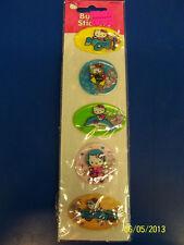 Hello Kitty Cat Retro Sanrio Kids Birthday Party Favor Scrapbook Bubble Stickers