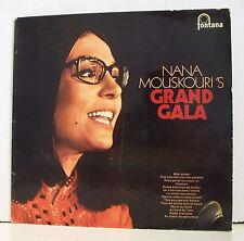 "33 tours NANA MOUSKOURI Disque Vinyle LP 12"" GRAND GALA   MONTANA 885 564"