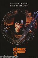 POSTER: MOVIE REPRO: PLANET OF THE APES - SEIZE THE POWER -FREE SHIP #PL2 LP34 T