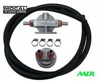 MOCAL REMOTE OIL FILTER KIT BMW FORD FIAT ROVER V8 VW 3/4UNF M20 M18 13/16 FK4