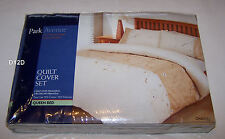 Park Avenue Chantel Embroidered Queen Bed Quilt Cover Set New *Clearance*